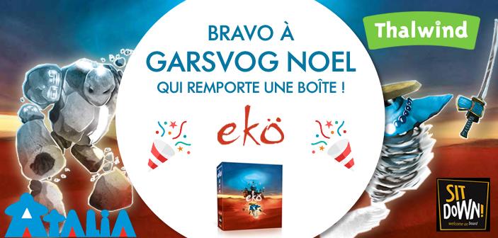Le gagnant du concours Ekö