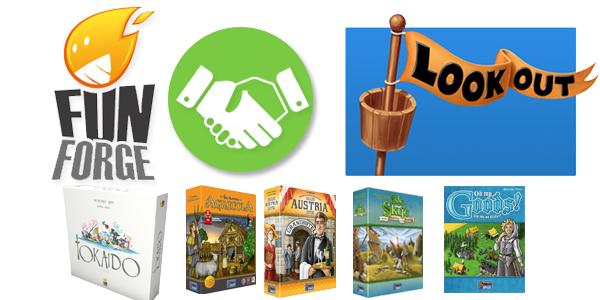 Funforge et Lookout Games