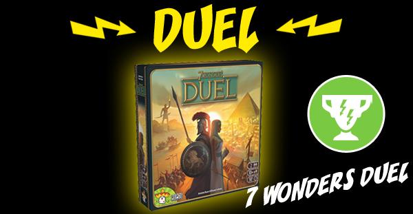 7 Wonders Duel remporte le match