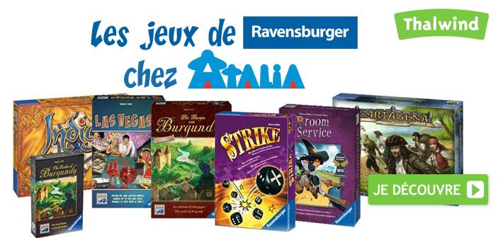 Les jeux de Ravensburger chez Atalia
