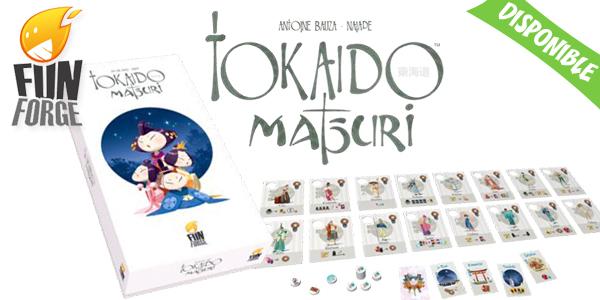 Matsuri, la 2ème extension de Tokaido