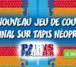 Jeu de course sur tapis néoprène avec Paris Finisher