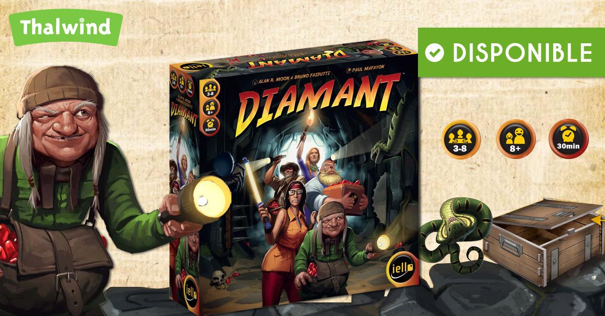 Sortie du jeu Diamant - Iello