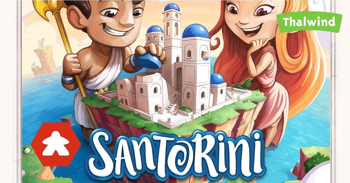 Santorini le jeu de société