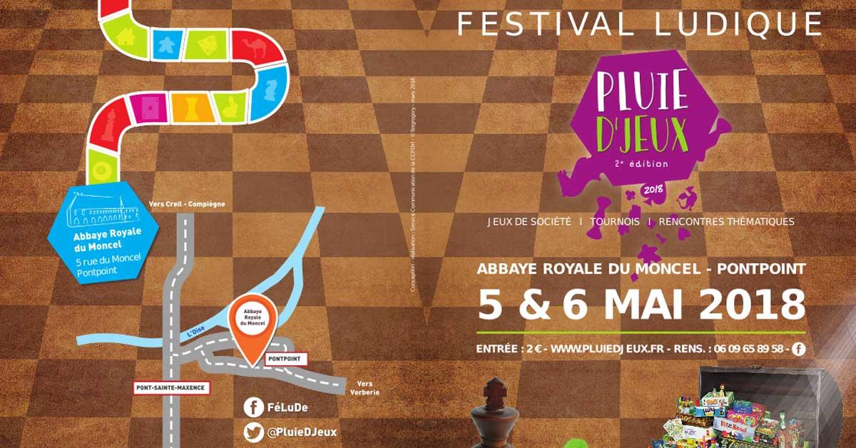 Festival ludique - Pluie D'Jeux 5 et 6 Mai
