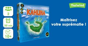 Kahuna, jeux à 2 joueurs de Iello
