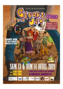 GIVORS EN JEU – 8ème édition – 13 & 14 Avril