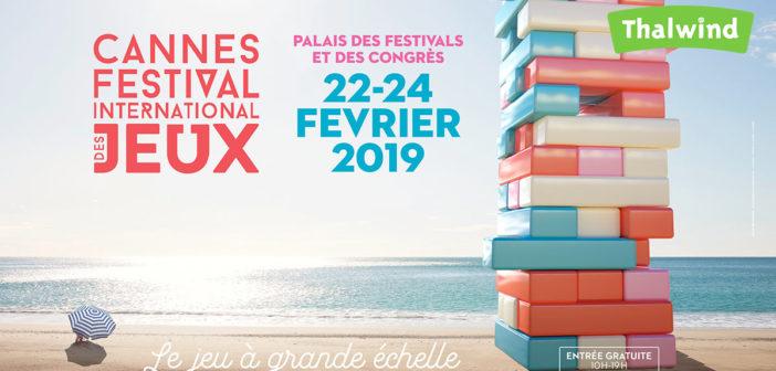 Le Festival Internationale des Jeux à Cannes