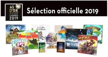 Les nominés du Festival International des Jeux de Cannes