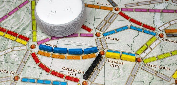Jouez aux Aventuriers du Rail avec Alexa d'Amazon