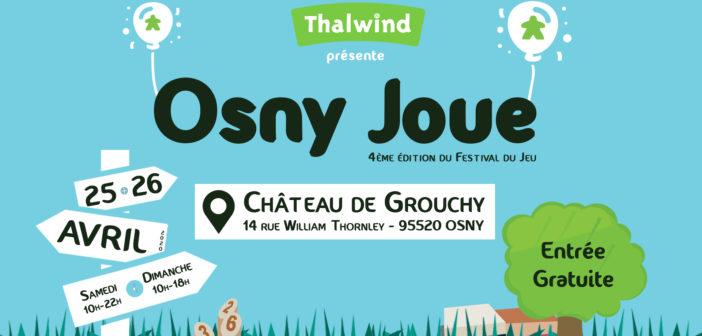 Festival Osny Joue – 4ème édition – 25 & 26 Avril 2020