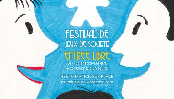 Le festival Pierreludiques – Dimanche 8 Mars